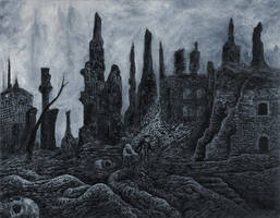 A Curse for the Living, A Blessing for the Dead by mariosvonkerpen