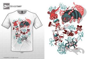 Doodles X Monsters by derlanalmeida