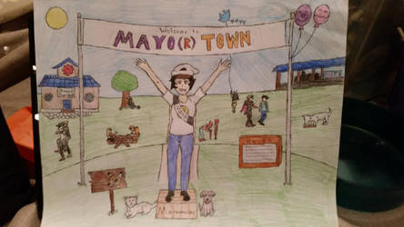 Welcome to Mayo(r) Town by DragonEmerald98
