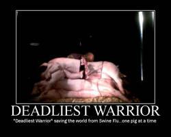 Deadliest Warrior by EraserRain21