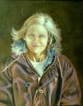 Portrait of Linda, Winter by hank1