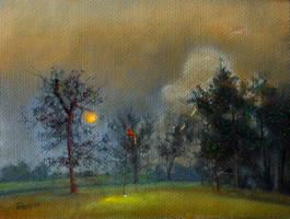 The Golfer:  a Dream by hank1