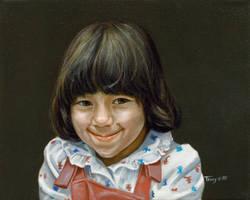 Portrait of a Girl 1 by hank1