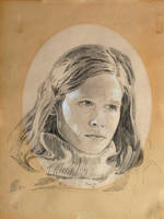 Drawing of Linda by hank1