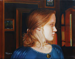 Portrait of a Girl: Interior by hank1