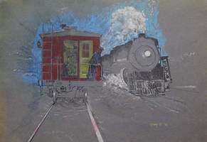 Train and Caboose by hank1