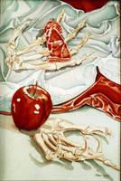 Metacarpals Apple Paint Tube by hank1
