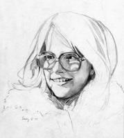 Artist's Daughter, sketch by hank1