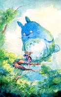 Searching for Totoro by Pikatoro