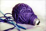 Knitting an Idea by VioletEvans