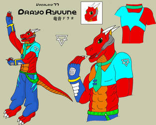 Drayo Ryuune Character Sheet by Drayo
