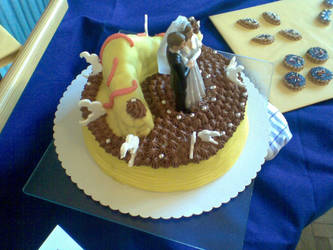 my exhibition cake finish 2 by Drayo