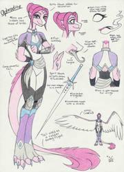 (WIP) TMNT OC: Aphrodite Navalle by MajesticReaper