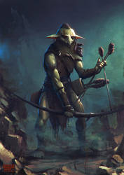 Goblin archer by FJFT-Art