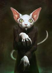 Vamp cat by FJFT-Art