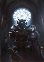Bishop of steel by FJFT-Art