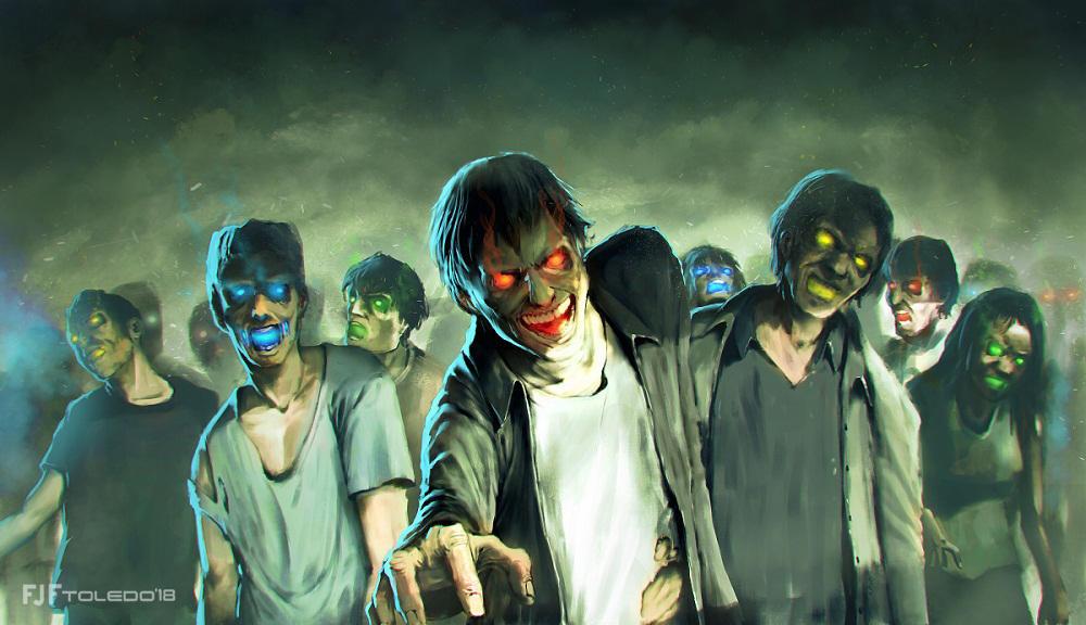 Zombies Akuma by FJFT-Art