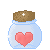 Free Icon: Jar Heart by LeanaMee101