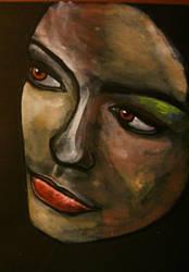 Face I by ayshafaseeh