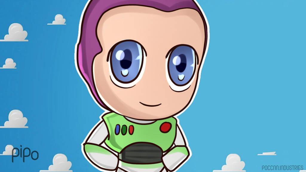 Chibi Buzz Lightyear Wallpaper Toy Story By Poccnnindustries On