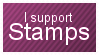I Support Stamps by ivyc