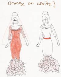 Wedding dress? by SAIMARU-GODESS