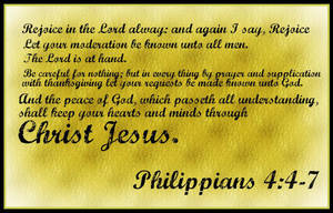 Philippians 4:4-7 by Menchieee