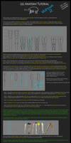 Leg Anatomy Tutorial (Version 2) by Jejihu