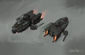 hover tank by JimHatama