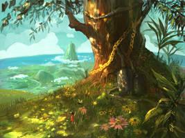 tree by JimHatama
