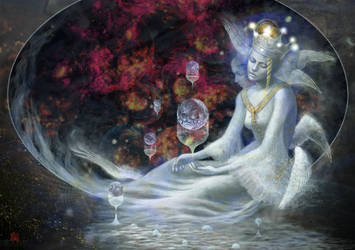 Rose Nebula by m-chloe