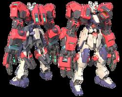 GMX-397-05/JA Gundam Durandal Ogre by TurinuZ