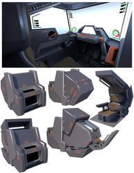 Brave Cockpit (2018) by TurinuZ
