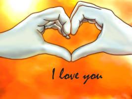 I love U DBZ romance -Vegetto by vegetto-vegito