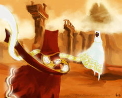 Journey - Meeting for the first time by Feffelini