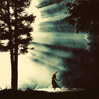 Dance in the rain by leelloor