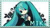 MIKU Stamp by Vectomon