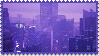 Purple City Stamp by PrismsFairies