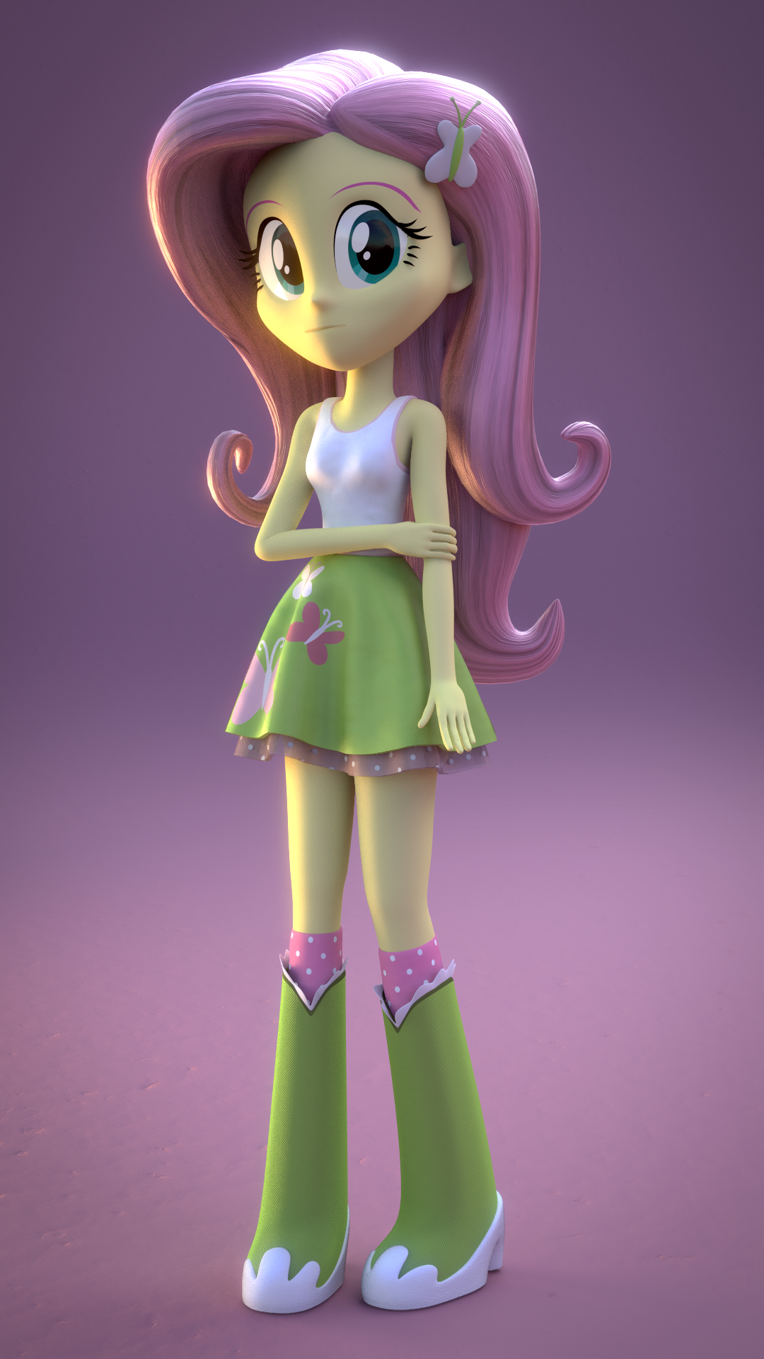 Fluttershy by CreatorOfPony on DeviantArt