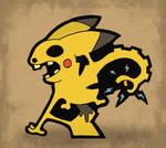 Pikachu by Fosilly