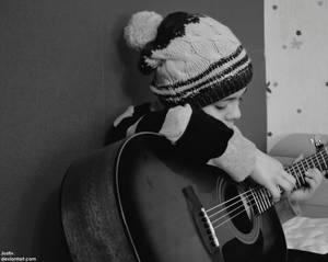 Guitar fan by justiv