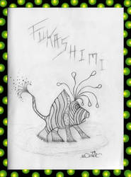 Frog Fukashimi (rough sketch) by missingmom