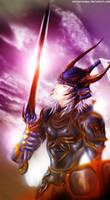 CGpractice56_warrior_of _light by anakdesa-baikhati
