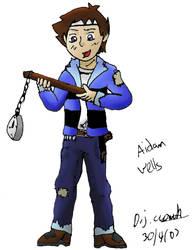 A pirate's life for Aidan by one-tru-blu