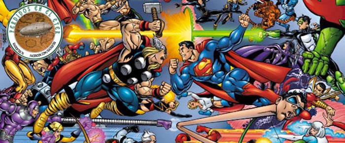 Perdidos En El Eter #291: Cartas de Superheroes by lordmagnusen