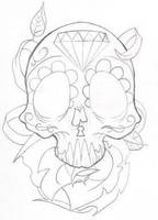 Sugar Skull by deargodeverything