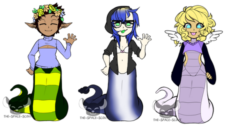 Naga Adopt Sheet (OPEN SET PRICE) by The-Space-Scout