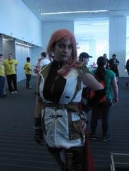 Claire 'Lightning' Farron Cosplay at Tekko 2014 by Lock-OS