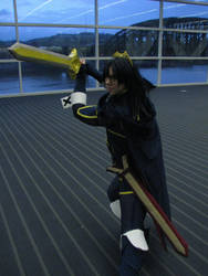 Lucina with Parallel Falchion at Tekko 2014 by Lock-OS