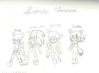 Sonic Forever by ANTI-DARK